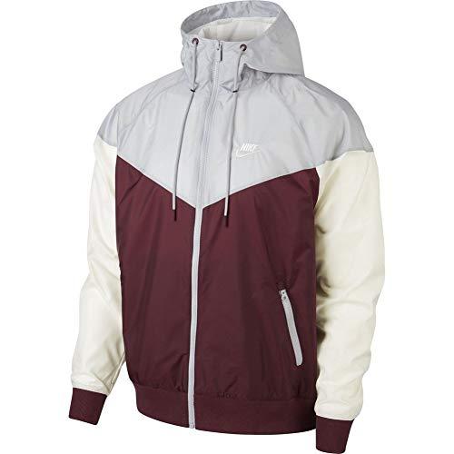 Sportswear Grey Sail Rosso Medium Uomo Nike 681 Giacca Maroon Windrunner night wolf Aq8wRfd
