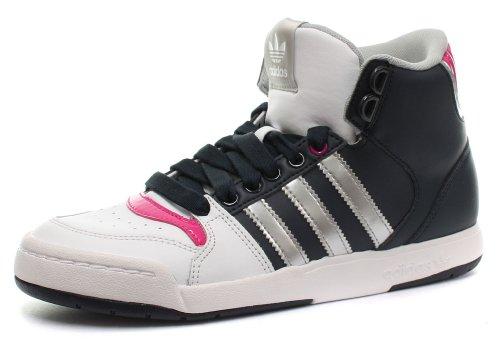 Donna runwht W Originals 2 metsil Midiru Sneaker Mid Court Adidas Bianco legink F0qax