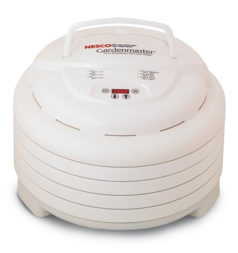 Nesco American Harvest FD-1020 Gardenmaster 1000-Watt Digital Food Dehydrator