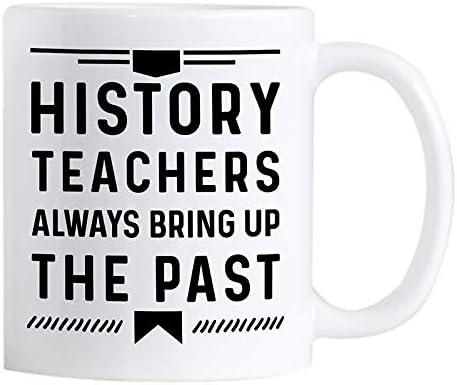 History Teachers Always Bring Up The Past - Mug