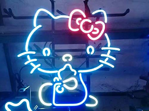 Neon princess Factory 24x20 inches Hello Kitty Real Glass