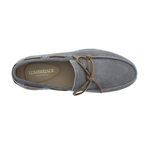 Lumberjack grigio Hombre Leman CD003 Slippers rnxArYWa