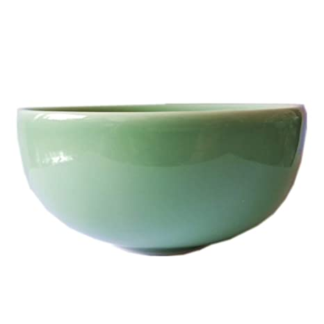 Amazon.com: Chino Celadon 4.5 inch tazón de arroz microondas ...
