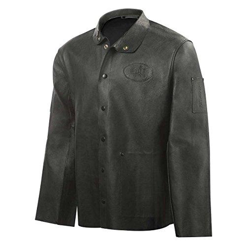 (Steiner 92P8-2X 30-Inch Pro-Series Grain Pigskin Welding Jacket, 2X-Large)