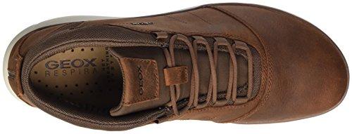 U Black High Lt a Nebula Sneaker Geox Brown C6002 Men's Brown fSWcP1I5