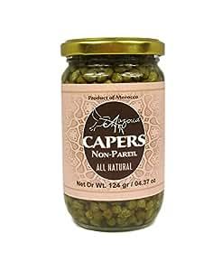 Auzoud All-Natural Non-Pareil Capers, 4.37 oz