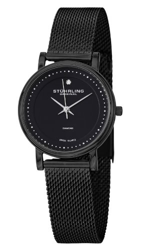 Stuhrling Original  Damen -Armbanduhr  Analog  Quarz Edelstahl 734LM.03
