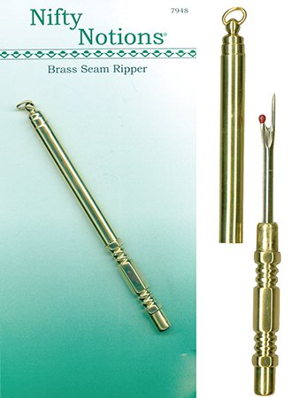 Nifty Notions Brass Seam Ripper by Nifty Notions