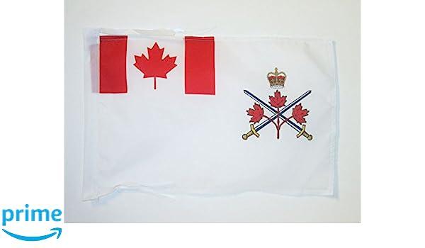 Pack of 12 Canadian Flag Sticks 12 x 18