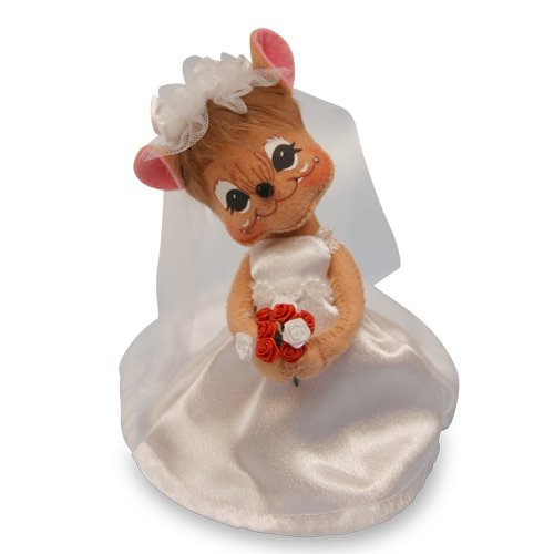 Annalee - 6in Bride Mouse