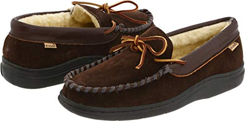 Men's L.b. Evans 'Atlin' Moccasin, Size 9 M - Brown