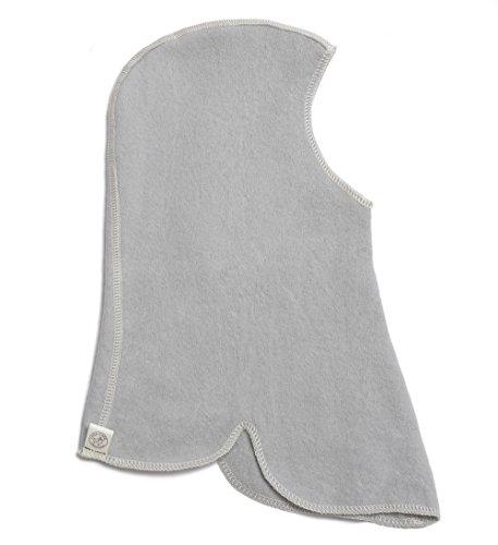 Riding Hat (Balaclava) in Soft Grey, size S (2-5 yr)