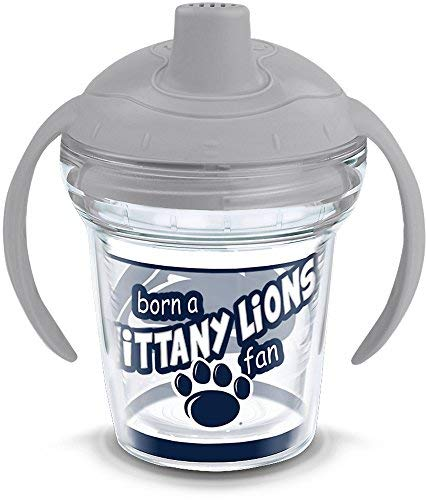Tervis 1292051 NCAA Penn State Nittany Lions Born a Fan Sippy Cup with Lid, 6 oz, Clear [並行輸入品]   B07T5KZLKS