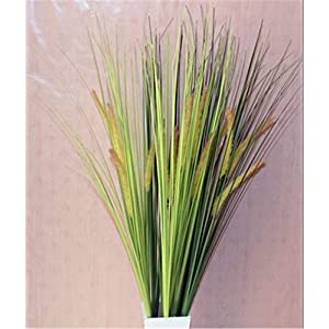 Artificial Decorative Flowers Simulation dog tail grass simulation weed plastic flower reed spike dry flower fake flower simulation foxtail Flower Products include:Decorative Artificial Flowers 3