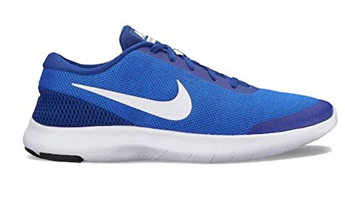 Nike Mens Flex Erfarenhet 7 Löparskor Hyper Royal / Vit Djup Kungsblå