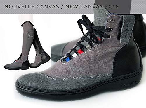 EU 38   US Men 6   US Women 7.5 FreeJump Canvas Riding Boots (Unisex)