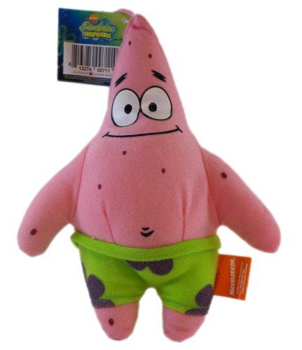 Spongebob Squarepants Fun Pocket - Nickelodeon Spongebob Squarepants Patrick Character Plush Toy with Zipper Pocket