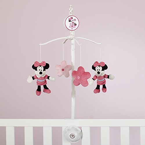 Disney Minnie Mouse Sitting Pretty Musical Mobile, Pink