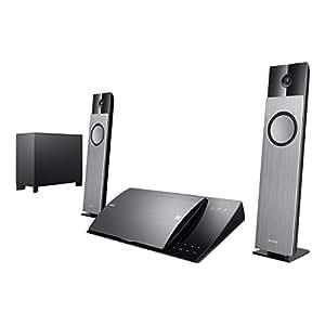 Sony Sistema de cine en casa BDV-NF720 - Equipo de Home Cinema (Reproductor de Blu-Ray, BD, CD, DVD, AVCHD, MKV, MPEG1, MPEG2, MPEG4, WMV9, XVID, 400W, 2.1, AAC, LPCM, WMA) Negro
