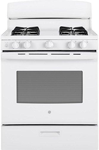 white gas range stove - 2