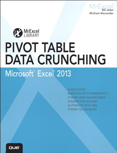 Excel 2013 Pivot Table Data Crunching (MrExcel Library) Pdf