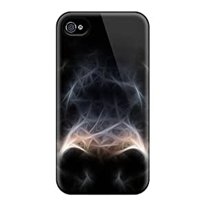 Waterdrop Snap-on Jaguar Black 3d Cases For Iphone 4/4s