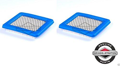 2 Pack Genuine Briggs & Stratton 491588 Air Filter Replaces 399959 OEM (Briggs Stratton 491588 Air Filter compare prices)