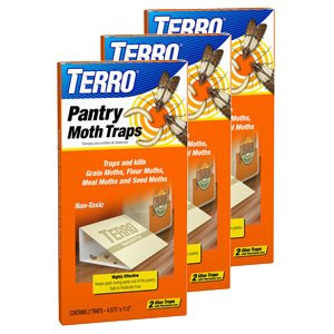 - Terro 2900 Pantry Moth Trap, 2 Traps (3 Pack, 6 Traps Total)