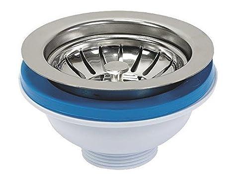 115mm Stainless Steel Strainer Basket for Kitchen Sink Basin Drain ...