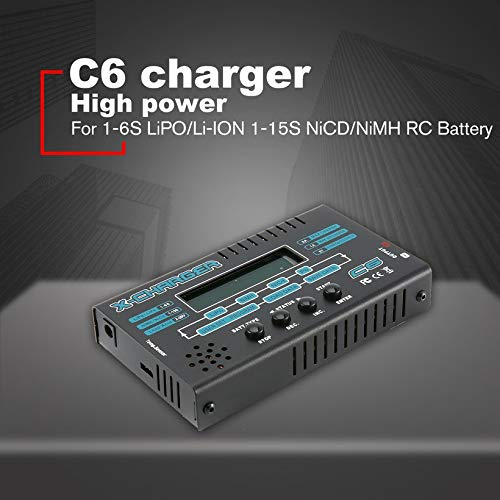 Wikiwand G.T.Power C6 LCD Charger for 1-6S LiPO/Li-ION 1-15S NiCD/NiMH RC Battery by Wikiwand (Image #2)