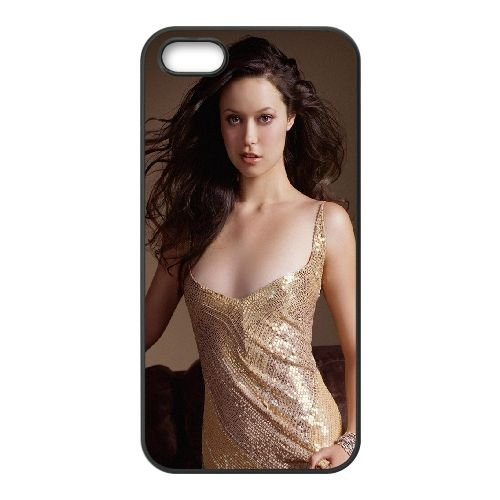 Girl Model Brunette Look Dress 83697 coque iPhone 5 5S cellulaire cas coque de téléphone cas téléphone cellulaire noir couvercle EOKXLLNCD24004