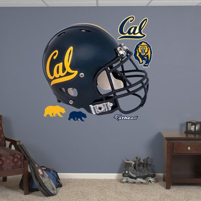 FATHEAD NCAA California Golden Bears Helmet Wall Graphic