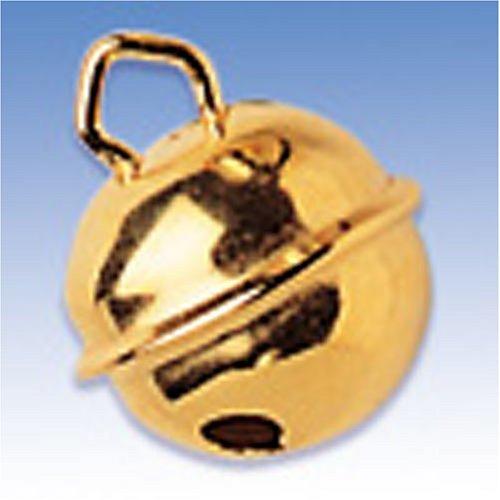 KnorrPrandell Gütermann 8605696 - Campanellino, ottonato, 17mmØ, confezione da 4 218605696