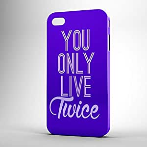 YOLT iPhone 4s 3D wrap around Case - Typography
