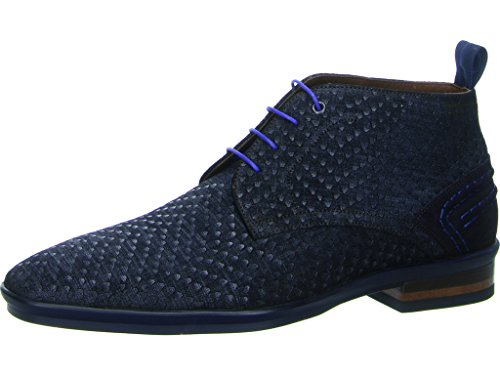 Floris van Bommel 10960 04, Stivali uomo Blu Blau Blau