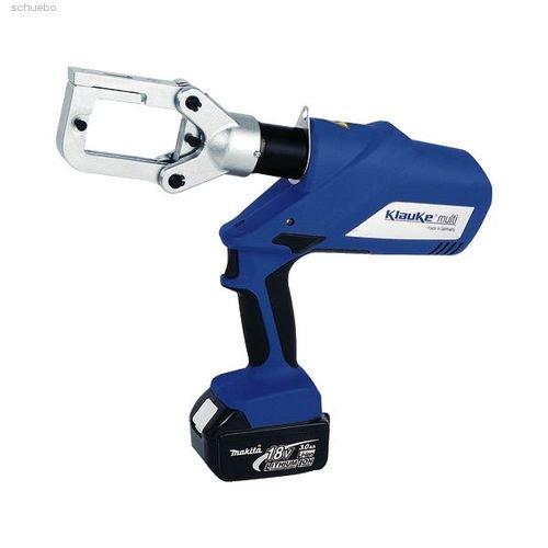 Klauke Presswerkzeug EK 60 UNVL Akku-Hydraulisch Multifunktionswerkzeug (Pressen/Schneiden/Lochen) 4012078710688