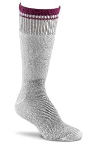 Fox River Women's Her Field Boot Socks, Charcoal Mix/Berry, Medium