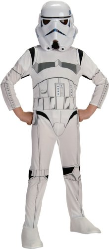 883034 (S) Storm Trooper Child Costume W Mask