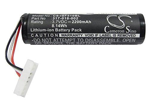HENZENS 2200mAh BarCode Scanner Battery for Honeywell IN51L3-D, Honeywell SF51, Intermec SF61 SF61b SF51, Intermec 1016AB01 SF61-BAT-001 318-025-001 by Cameron Sino