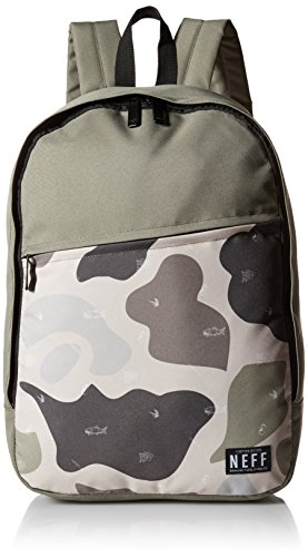 neff Unisex Daily School Backpack, Trouty, One Size
