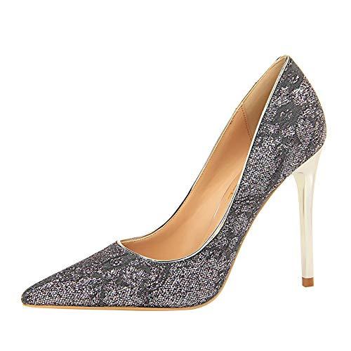 Sandales BalaMasa 5 Compensées APL10714 Femme Gris Gris 36 55ZBUrxq