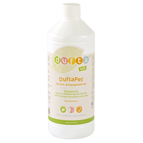 dufta 131000 Aroma apet bio sin olor & - Quitamanchas Botella (1000 ml): Amazon.es: Productos para mascotas