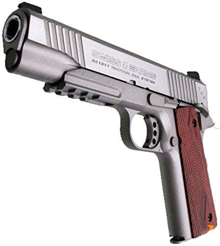 E=1,6 J Swiss arms-SA 1911 full metal 4.5 MM CO2 Blowback /…