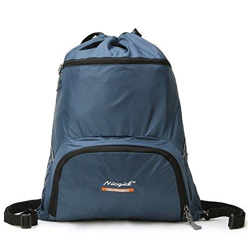 Drawstring Backpack Lightweight Sackpack Foldable