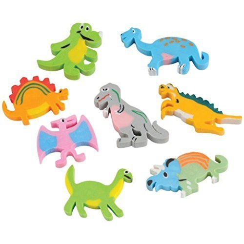 U.S. Toy Lot of 12 Assorted Dinosaur Design ()