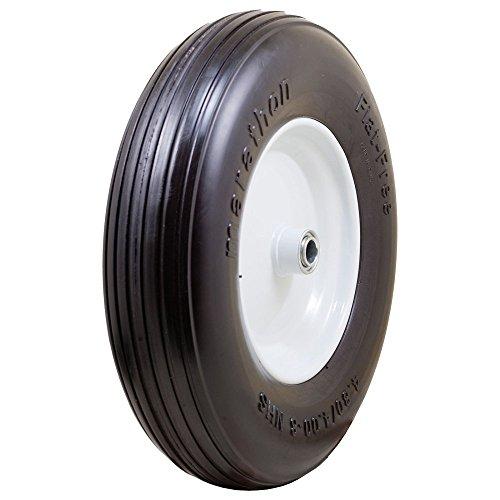 Marathon-00063-Ribbed-Flat-Free-Wheelbarrow-Tire