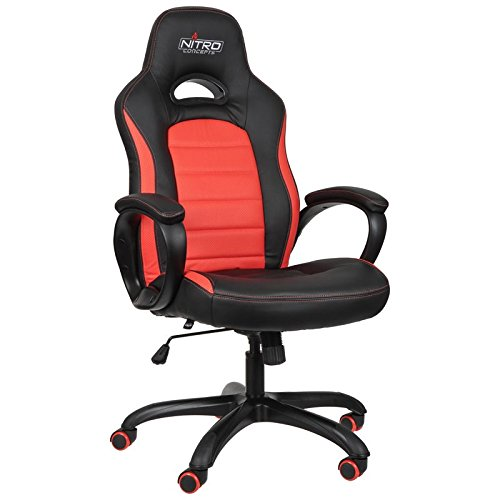 Nitro Concepts C80 Pure Series Gaming Chair - Black/Orange