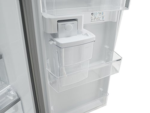 Side By Side Kühlschrank Mit Wassertank Und Barfach : Lg electronics gsl pzyvd side by side kühl gefrier
