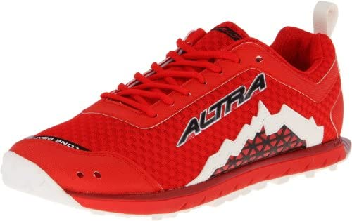 Altra Lone Peak Zero Drop Trail Zapatillas de running 1,5 Rojo ...