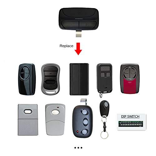 Universal Garage Door Opener Remote For Chamberlain